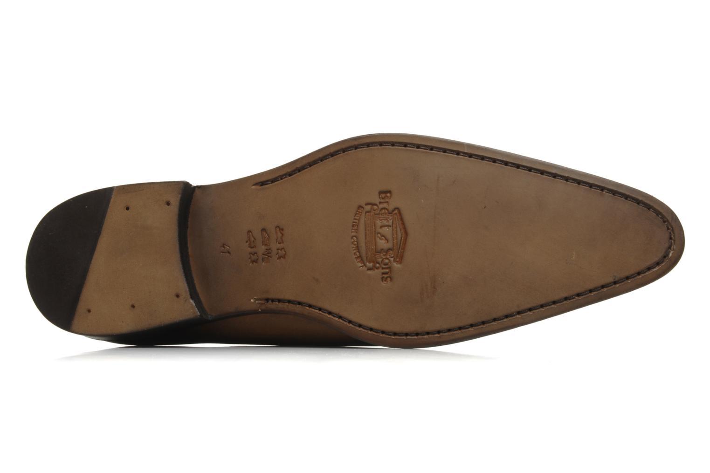 Chaussures à lacets Brett & Sons Lou Marron vue haut