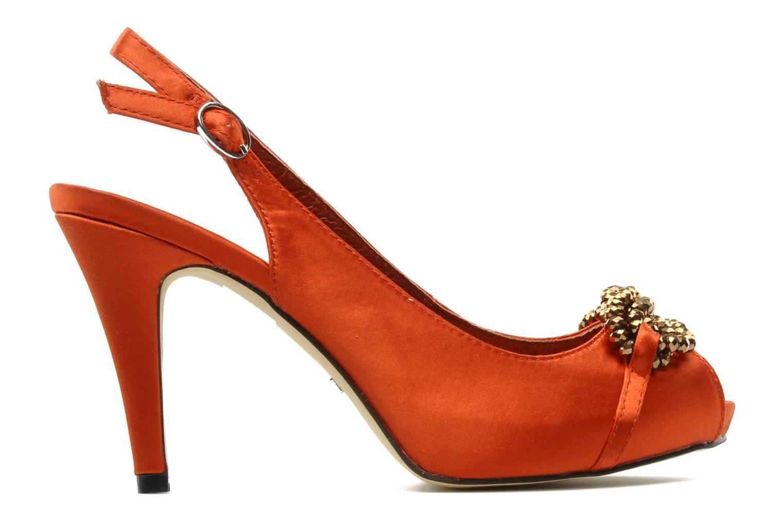 Sandalen Menbur Grusonii Oranje achterkant