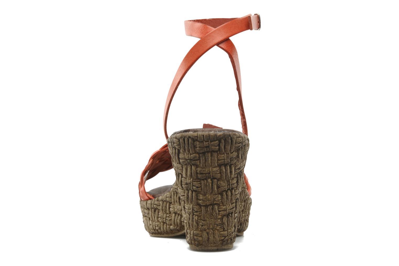 Sandali e scarpe aperte Arima pour Elle Panache Arancione immagine destra