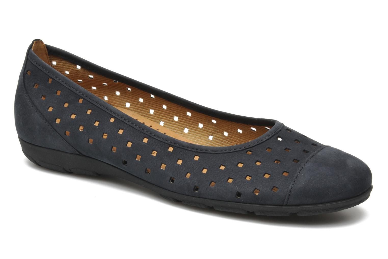 Grandes descuentos últimos zapatos Gabor Stéphanie (Azul) - Bailarinas Bailarinas Bailarinas Descuento f8c100