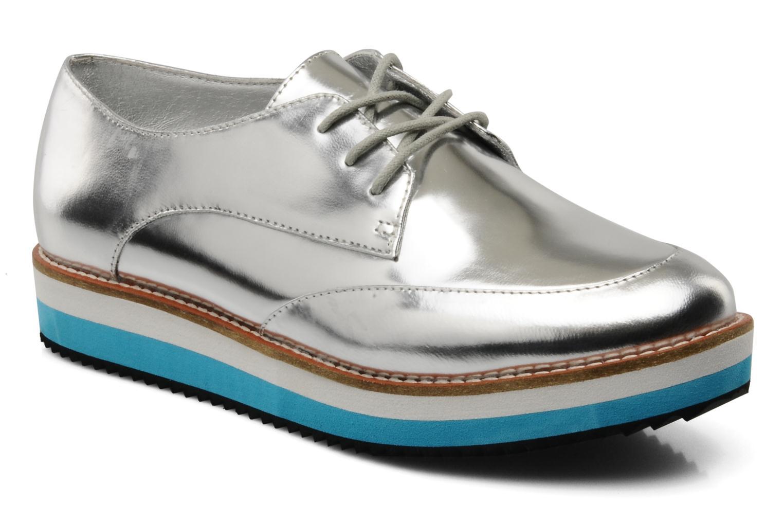 Zapatos con cordones Buffalo Disco Plateado vista de detalle / par