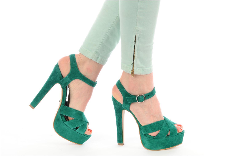 Sandali e scarpe aperte Buffalo Lizy Verde immagine dal basso