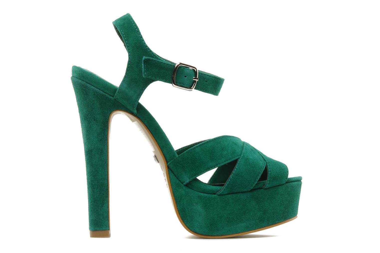 Sandali e scarpe aperte Buffalo Lizy Verde immagine posteriore
