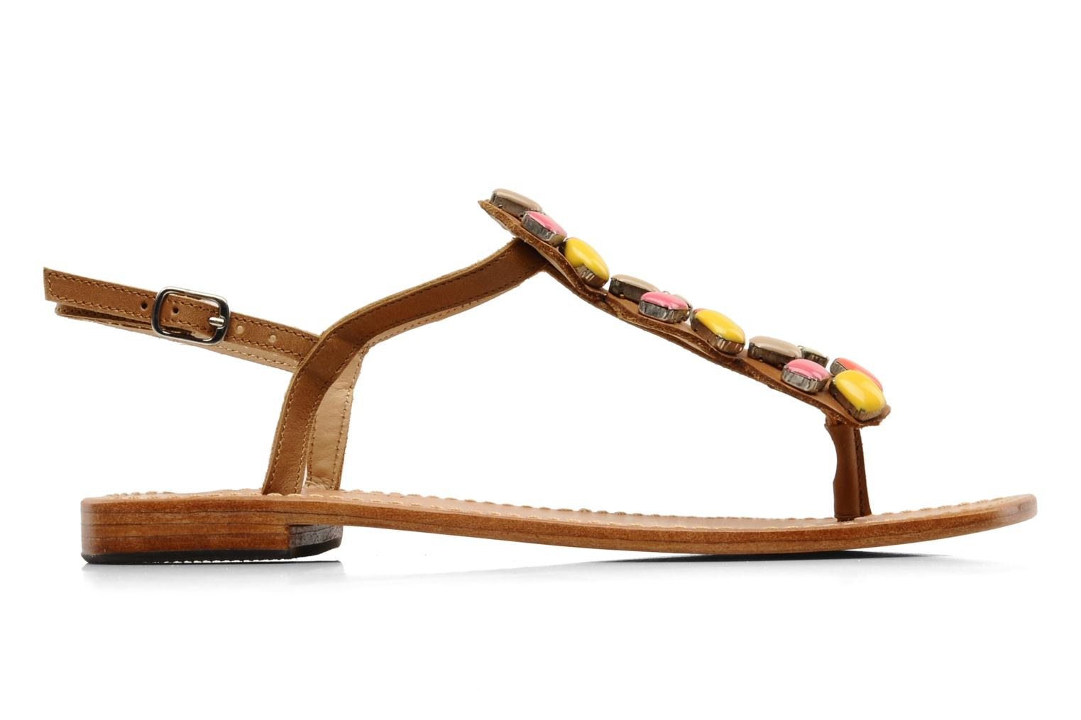 Sandals Mellow Yellow Lapi Brown back view