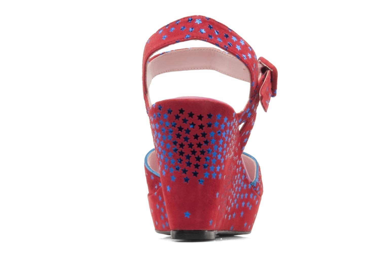Sandals Annabel Winship Jodie Red view from the right