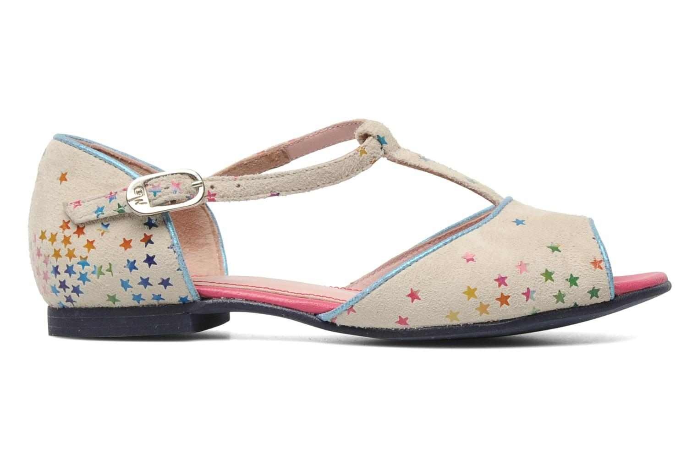 Sandales et nu-pieds Annabel Winship Jack Blanc vue derrière