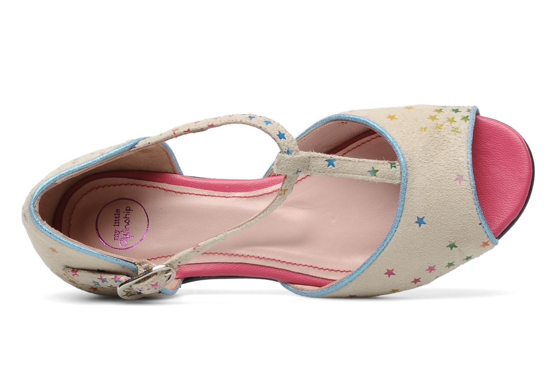 Sandales et nu-pieds Annabel Winship Jack Blanc vue gauche