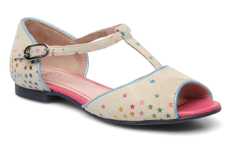 Sandales et nu-pieds Annabel Winship Jack Blanc vue détail/paire