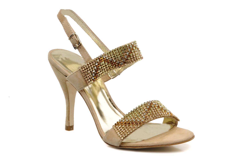 Sandales et nu-pieds Barachini Andrama Beige vue détail/paire