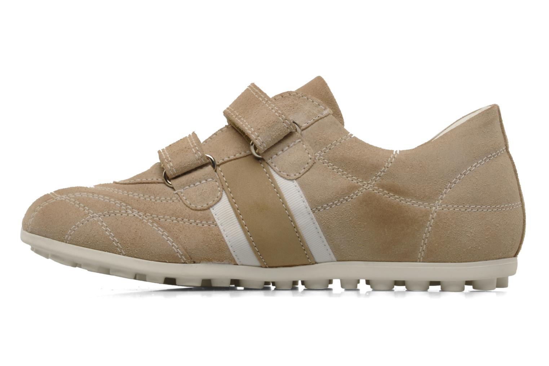 Sneakers Primigi Biggo Beige voorkant