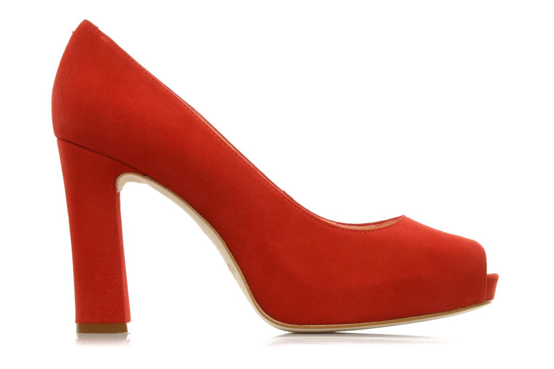 High heels Unisa Siro ks Red back view