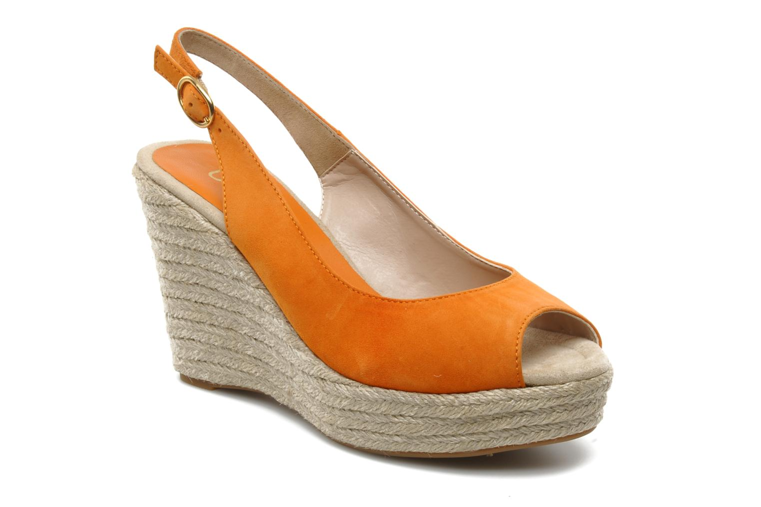 Sandals Unisa Merin ks Orange detailed view/ Pair view