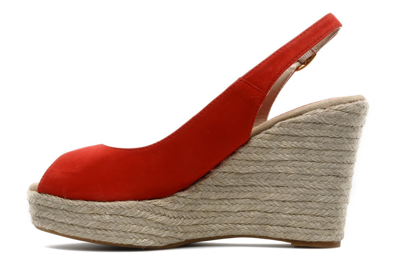 Sandals Unisa Merin ks Red front view