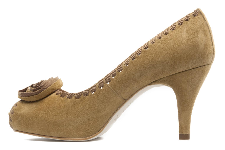 High heels Unisa Unelo ks Beige front view