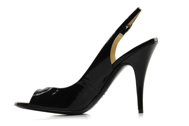 Sandales et nu-pieds Vicini Vrille Noir vue face