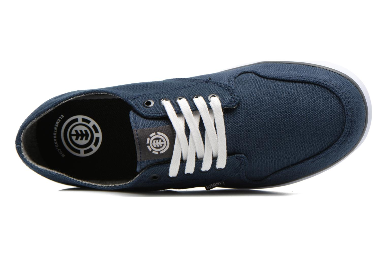 Sneaker Element Topaz blau ansicht von links