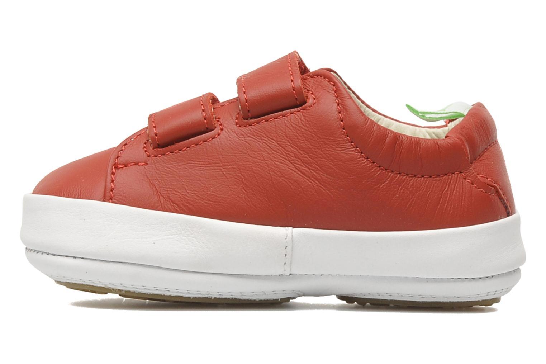 Sneaker Tip Toey Joey New Flashy rot ansicht von vorne