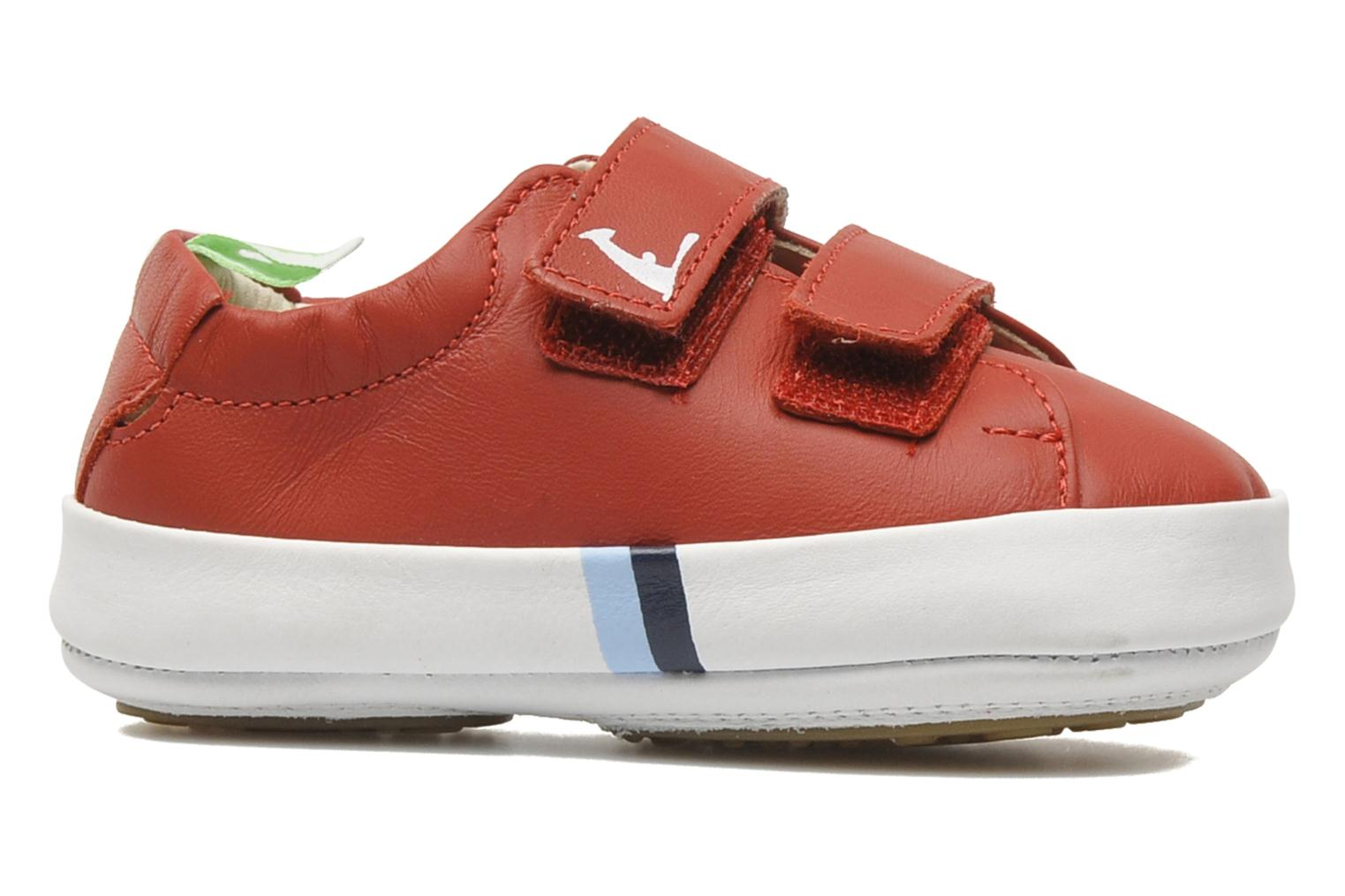 Sneakers Tip Toey Joey New Flashy Rood achterkant
