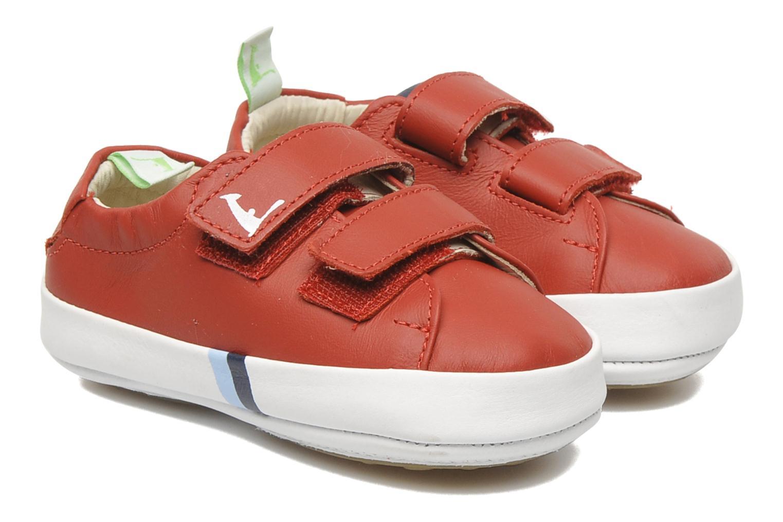 Sneakers Tip Toey Joey New Flashy Röd detaljerad bild på paret