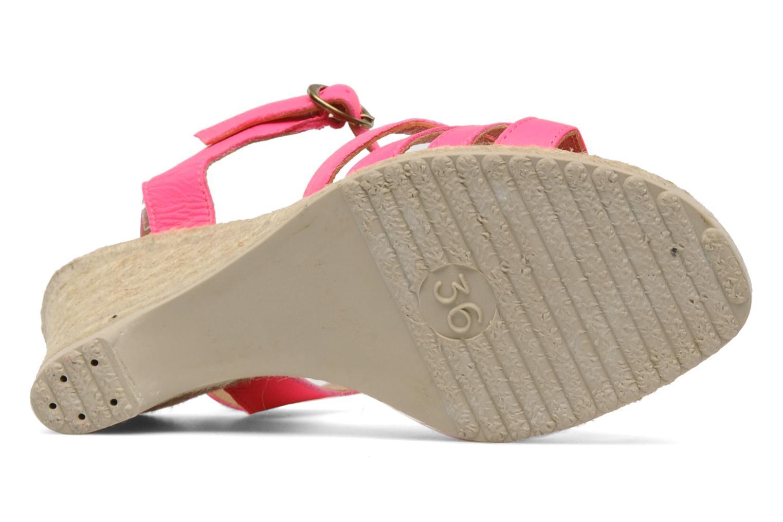 Sandales et nu-pieds Pare Gabia Assana Rose vue haut