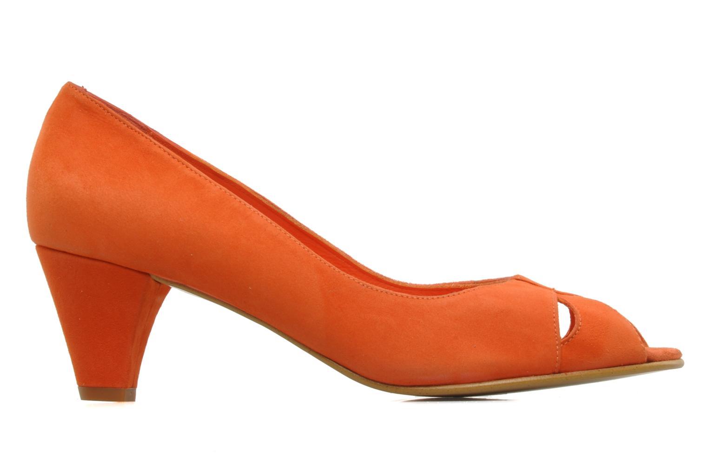 High heels Georgia Rose Magui Orange back view