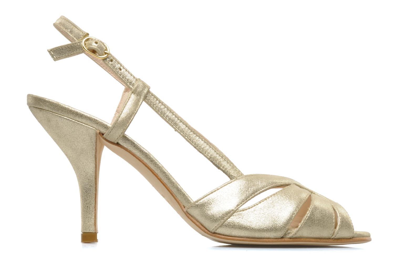 Sandals Georgia Rose Maraki Bronze and Gold back view