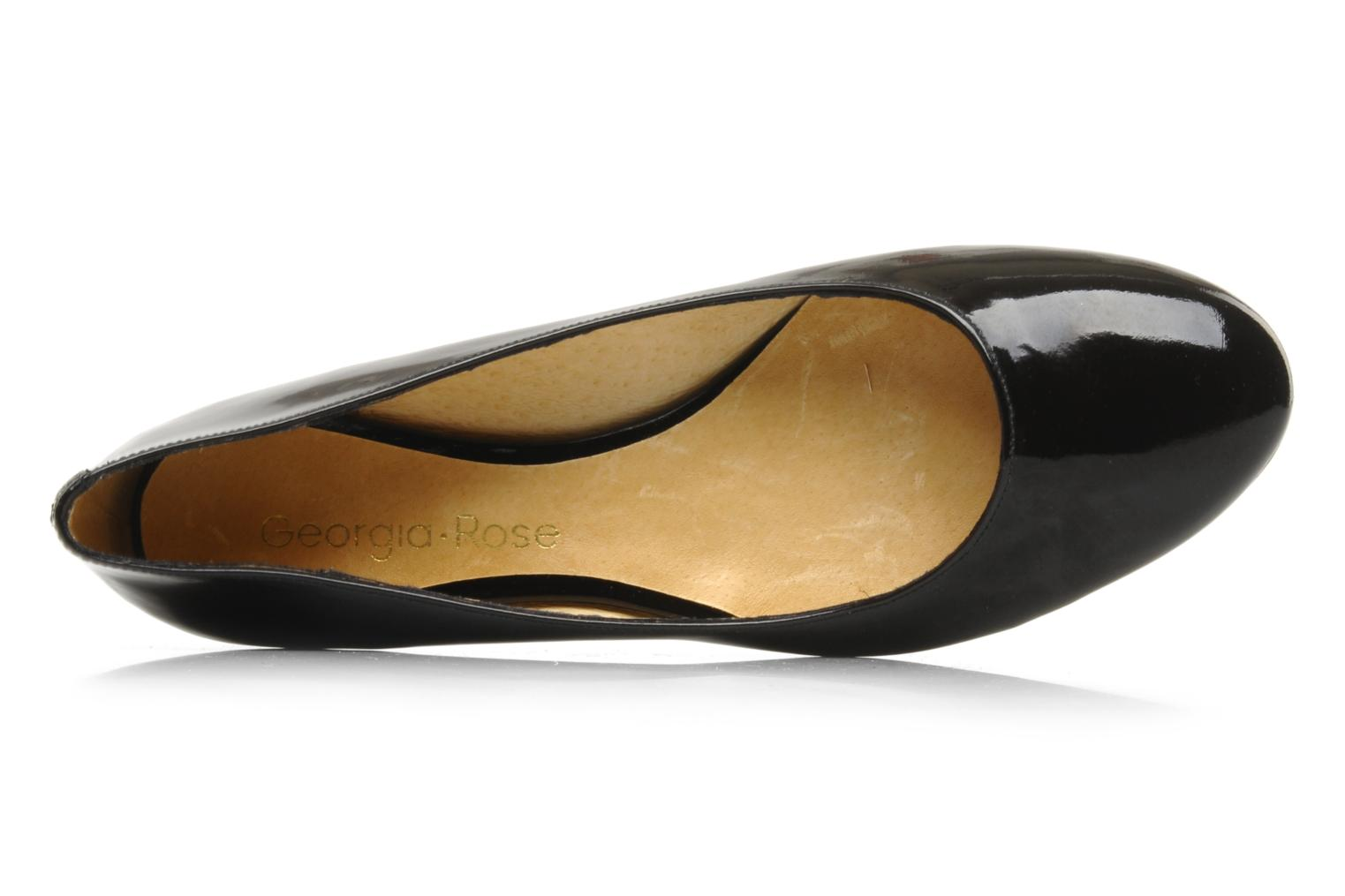 Ballet pumps Georgia Rose Maora Black view from the left