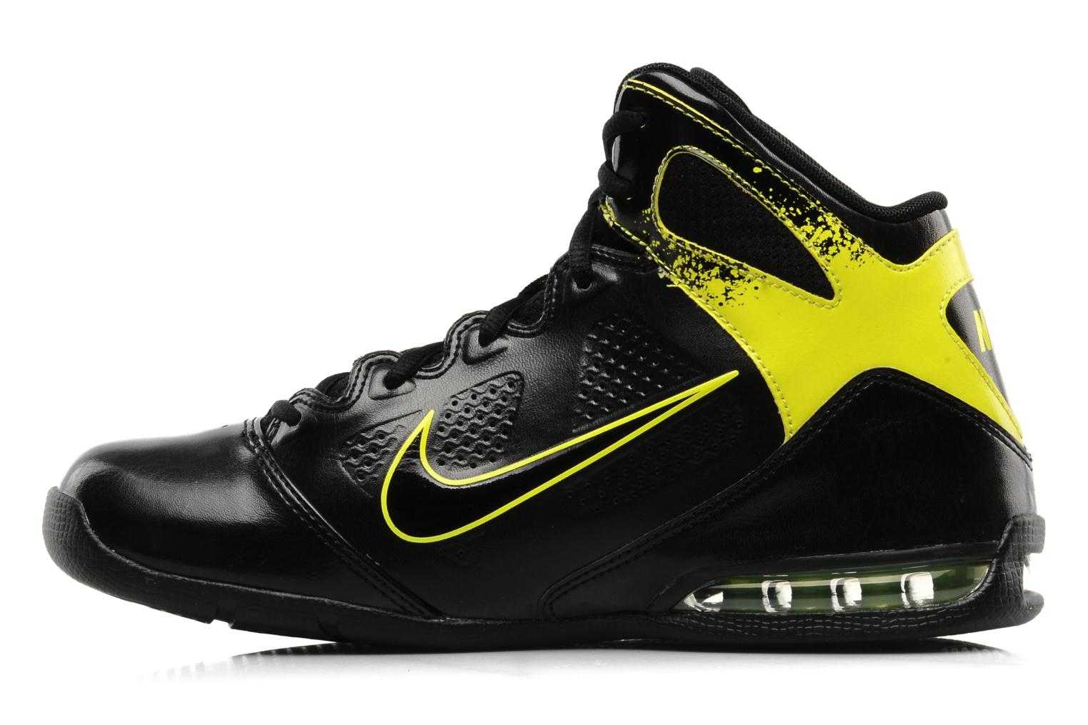 Sport shoes Nike Air max full court 2 nt Black front view