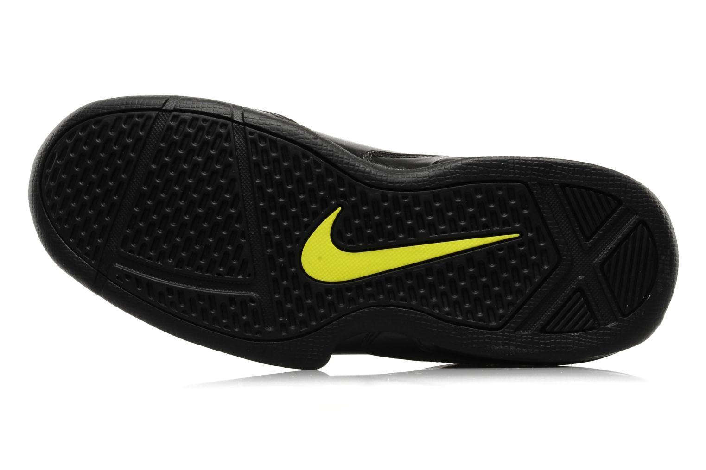 Sportschuhe Nike Air max full court 2 nt schwarz ansicht von oben