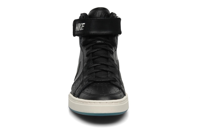 Sneaker Nike Nike air flytop schwarz schuhe getragen