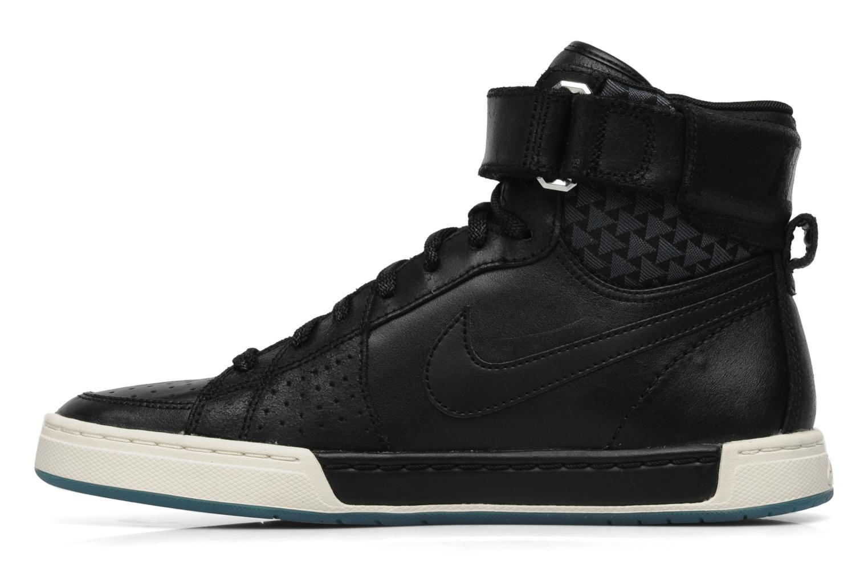 Sneaker Nike Nike air flytop schwarz ansicht von vorne