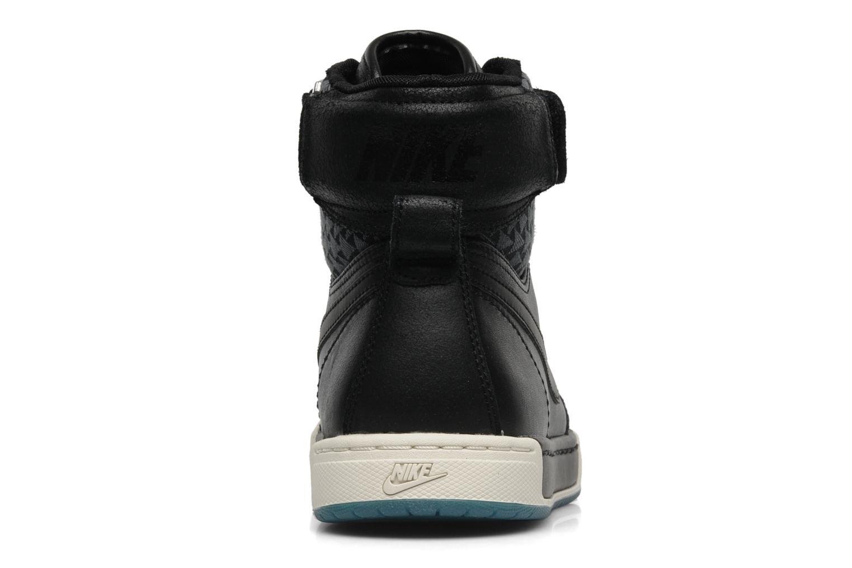 Sneaker Nike Nike air flytop schwarz ansicht von rechts