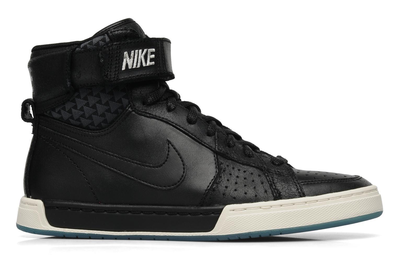 Sneaker Nike Nike air flytop schwarz ansicht von hinten