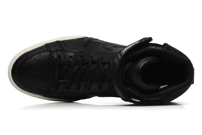 Sneaker Nike Nike air flytop schwarz ansicht von links