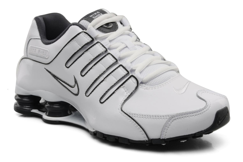 Sport shoes Nike Nike shox nz eu White detailed view/ Pair view