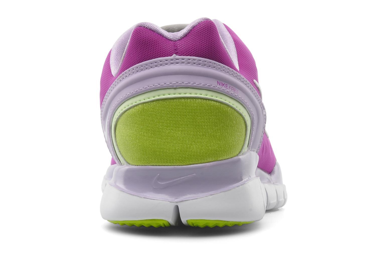 Chaussures de sport Nike Wmns nike free tr fit 2 Violet vue droite