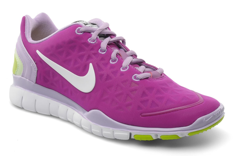 Chaussures de sport Nike Wmns nike free tr fit 2 Violet vue détail/paire
