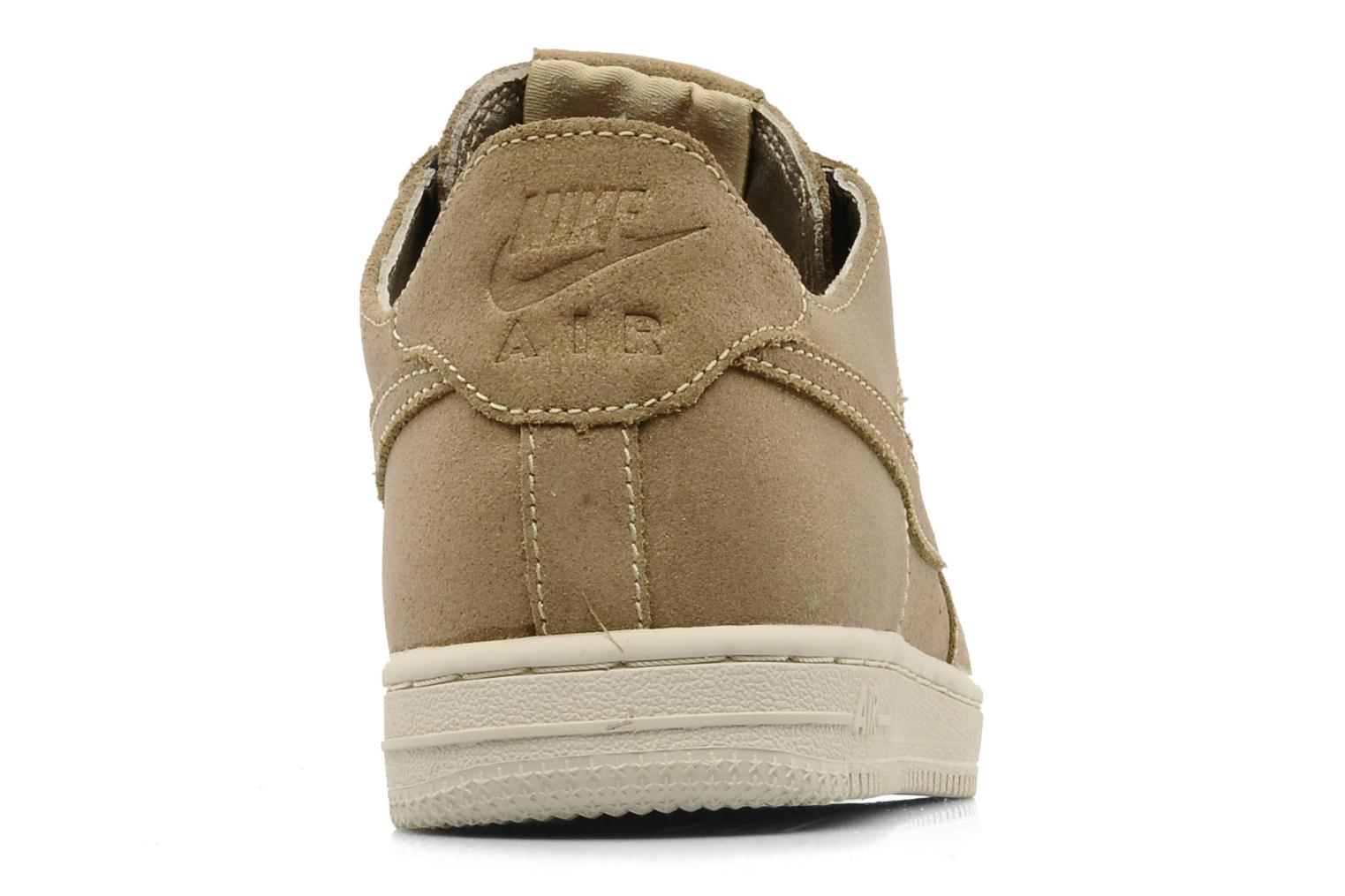 Sneakers Nike Wmns air force 1 low light Oro e bronzo immagine destra