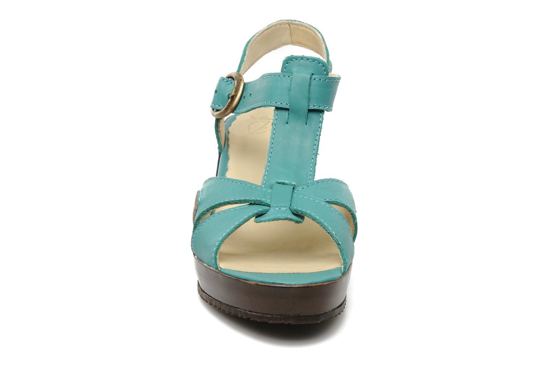Sandales et nu-pieds Sergio Tomani Mula 3903 Bleu vue portées chaussures