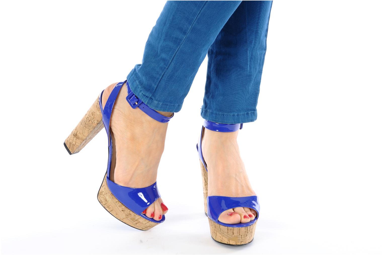 Sandales et nu-pieds Pour La Victoire Nasha Bleu vue bas / vue portée sac