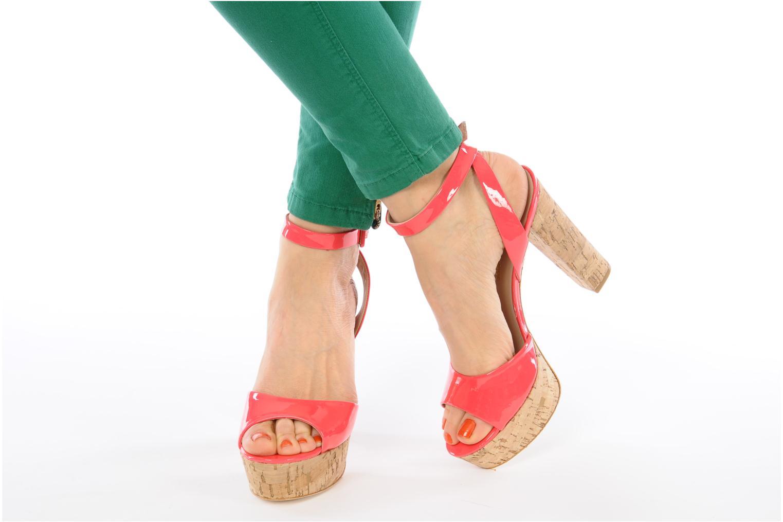 Sandals Pour La Victoire Nasha Pink view from underneath / model view