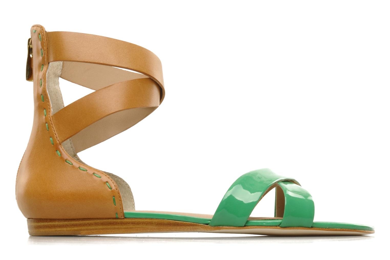 Sandalen Pour La Victoire Fabia grün ansicht von hinten