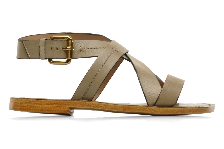 Sandales et nu-pieds Pour La Victoire Mariza Gris vue derrière