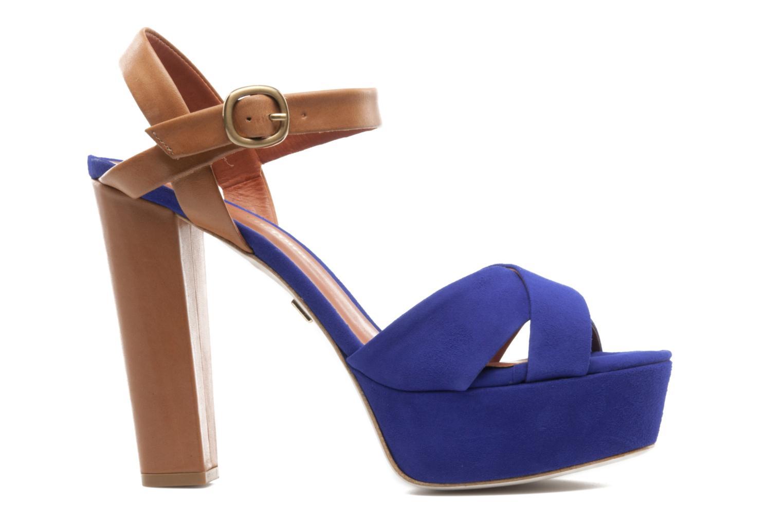 Sandales et nu-pieds Pour La Victoire Neysa Bleu vue derrière