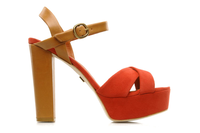 Sandalen Pour La Victoire Neysa rot ansicht von hinten