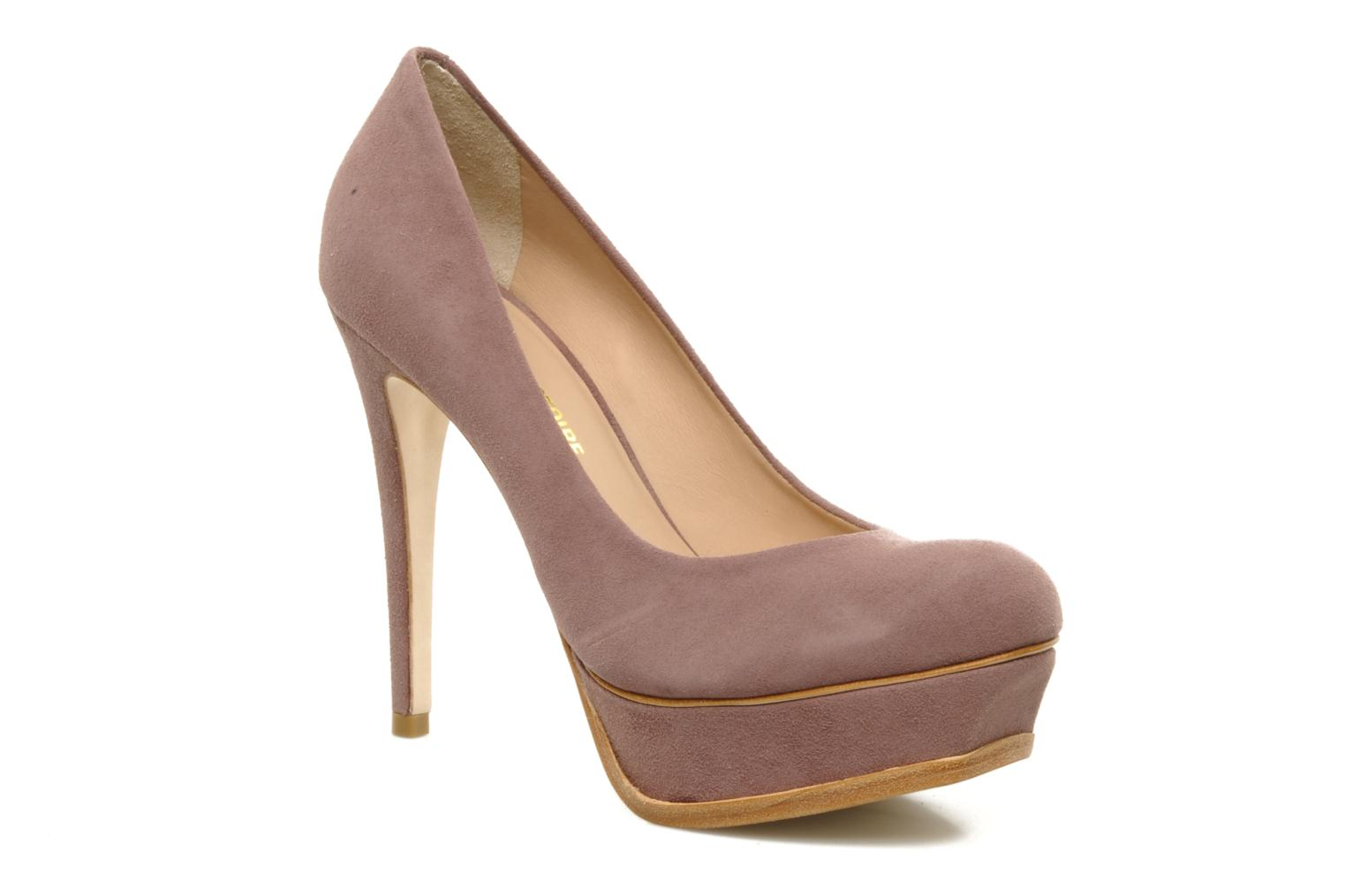 Portia DUSTY PLUM SUEDE