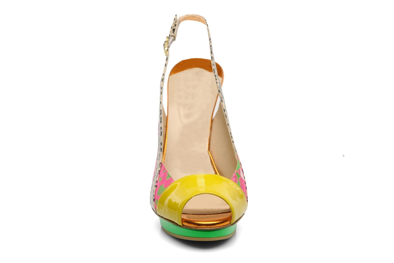 Sandals Ernesto Esposito Eba Multicolor model view