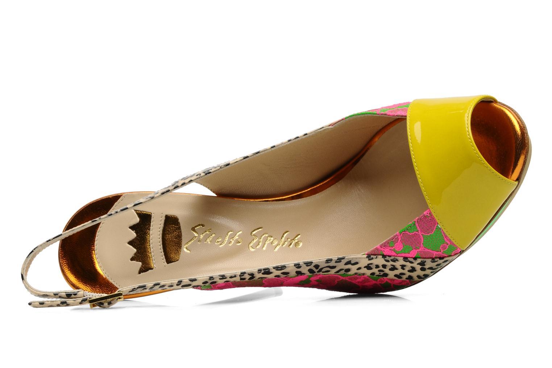 Eba Moire Giallo/ Pizzo Fluo 07/ Ghana 139/742/ Lam 031