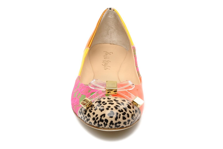 Ballerines Ernesto Esposito Eline Multicolore vue portées chaussures