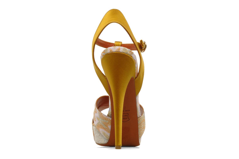 Sandales et nu-pieds Missoni Mabelle Multicolore vue droite